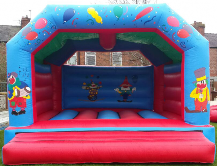 Clown Bouncy Castle
