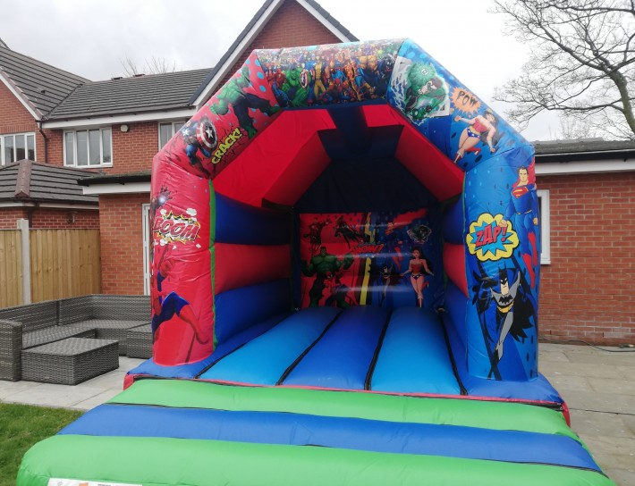 Marvel Superhero Bouncy Castle